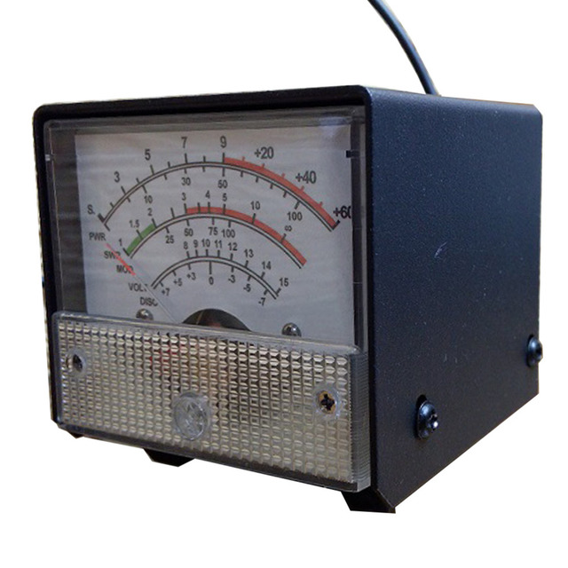 DIY Brand External S Meter/SWR/Power Multifunctional Extension Meter For Yaesu FT-857/FT-897 1