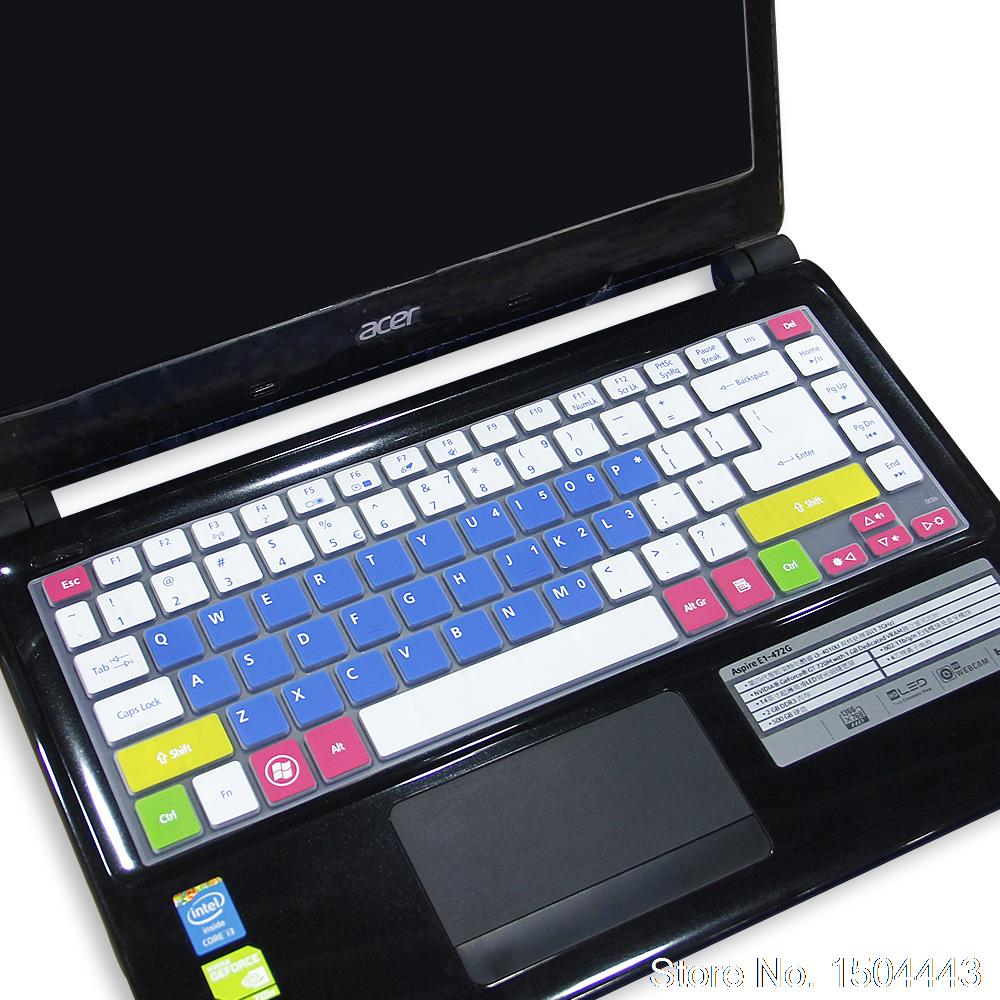 For Acer laptop Keyboard Cover Protector Skin for Acer Aspire V5 471G V5 472G V3 471G 4830T E1