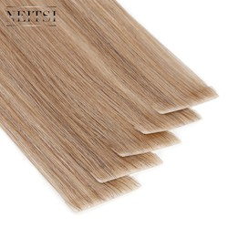 Neitsi Straight PU Skin Inslag Hand Gebonden Tape In Lijmen Remy Human Hair Extensions 16 20 24 20 pcs/40 pcs FedEx Snelle Verzending