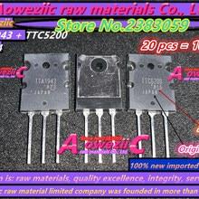 Aoweziic+ импортный TTA1943 TTC5200 A1943 C5200 TO-264 усилитель высокой мощности(1 пара) {происхождения: Япония}