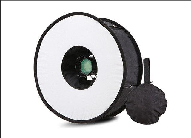 R-45 Ring Softbox Blitzgerät Runde Stil Flash Licht Schießen Weiche box Faltbare Weiche Flash Licht Diffusor