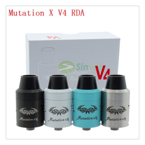 2015 the crazy sell Mutation X V4 RDA new Atomizers 1 1 Clone Rebuildable Atomizer tank