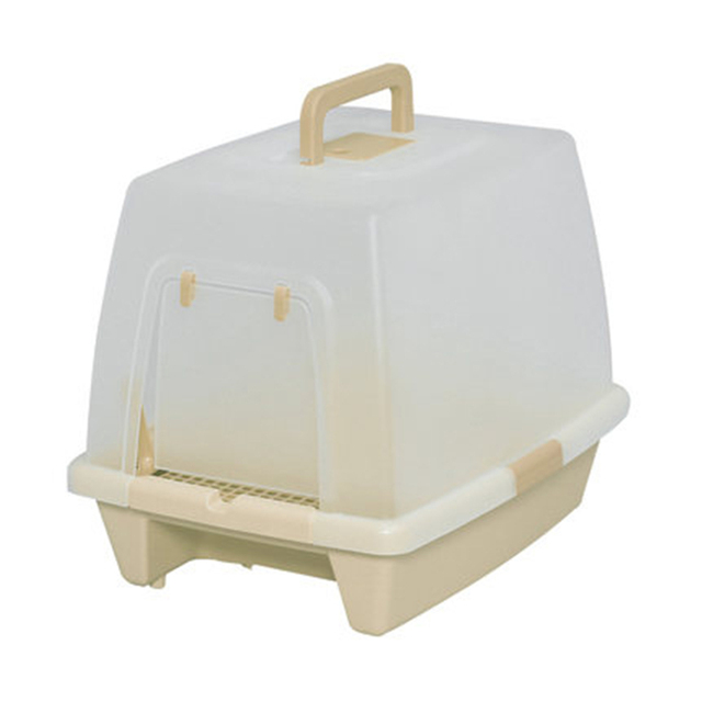 Dog Cat Litter Box WC Pet Toilet Accessories Pet Puppy Dog Indoor Tray Supplies Translucent Toilets Bedpan Pee Cats DDM23AA