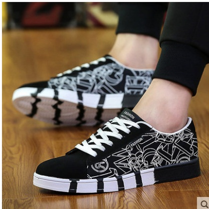 2018Hot Spring Autumn Fashion Men Casual Shoes Breathable Comfortable Male Sneakers For Adult High-quality Plus Size EUR39-46