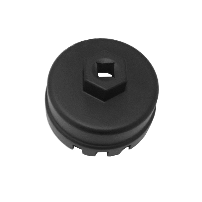 JEAZEA Black 3 8 14 Flutes Oil Filter Wrench Cap Housing font b Tool b font