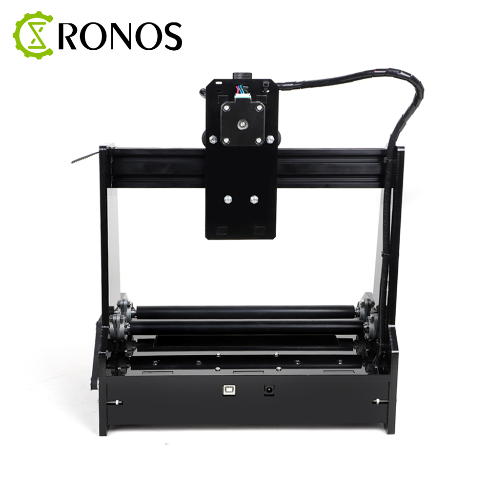 Купить с кэшбэком Small Cylindrical Laser Engraving Machine Can Engrave Cylindrical Stainless Steel Automatic DIY Cutting Plotter CNC Router