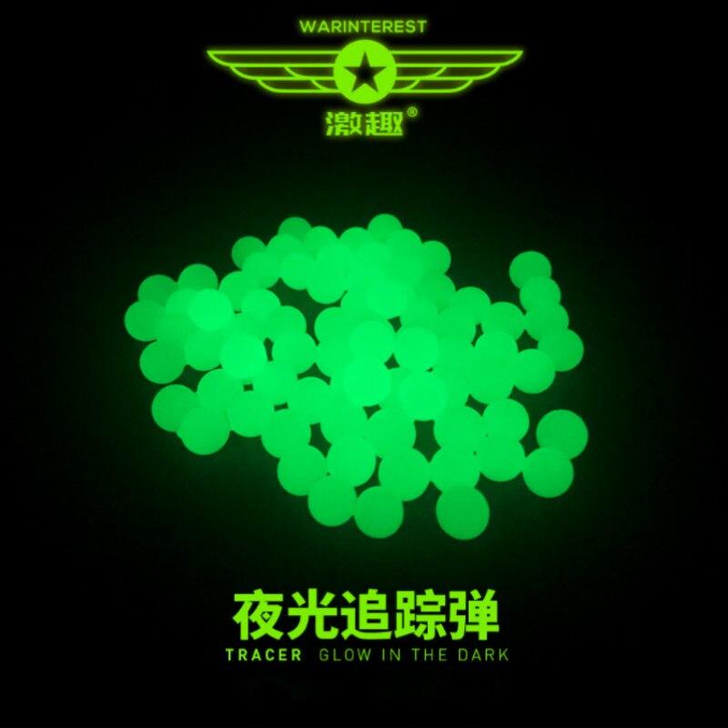 Gel Blaster 7-8mm boule de Gel luminescente blanc pour Gel dynamitage jouet pistolet boule de gel fluorescente