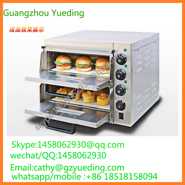 Commercial Two Layer Electric Pizza Oven Price/industrial Pizza Oven/portable  Pizza Oven