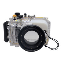Mcoplus 40M 130ft Underwater Housing Waterproof Diving Case Cover for Sony DSC RX100 Mark II RX100II