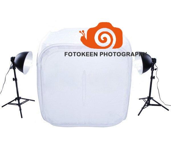 Nouvelle haute qualité, offre spéciale, Kit de tente de lumière de Studio carré photogranphy PK-ST08, kit de studio de photographie