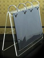 Free Standing Table Top Acrylic Photo Holder Frames For Christmas,Holiday Gifts DIY