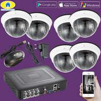 Golden Sicherheit 8CH 264.H CCTV DVR Home Einbrecher System, 720 P AHD Außen Kamera, Tag/nacht IR Cut