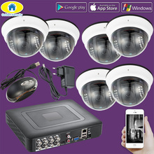 Golden Security 8CH 264.H CCTV DVR Home Burglar Security System,720P AHD Outdoor Camera,Day/night IR Cut