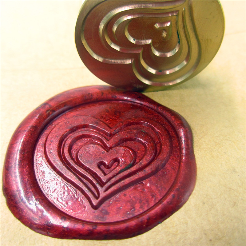 DIY Love heart Initials customize your logo Name Box set personalized Letter/Sealing Wax /wedding Wax Seal Stamp Gold Custom diy double initials design customize your logo name box set personalized letter sealing wax wedding wax seal stamp gold custom