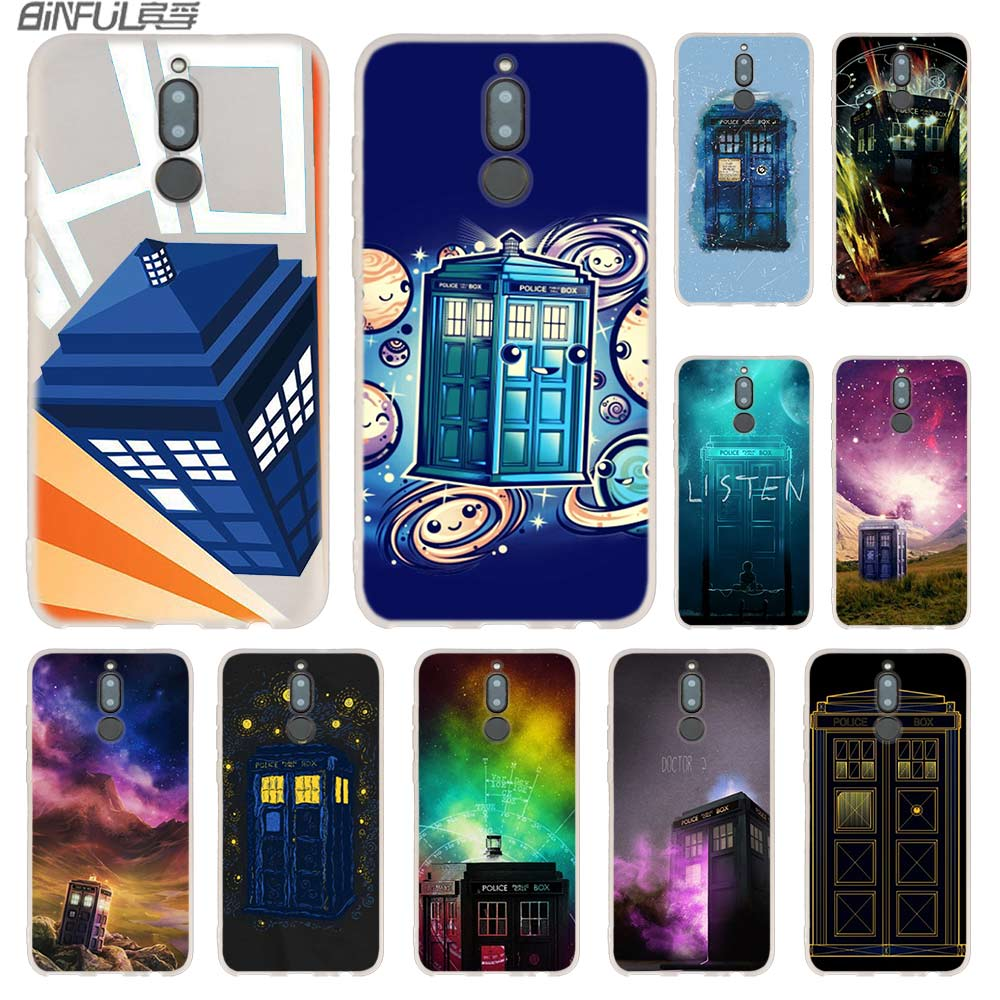 Fitted Cases Phone Bags & Cases Doctor Who Tardis Artwork Blue Hansen Cases For Huawei Mate 20 10 Lite Pro Cover Y5 Y6 Y7 Y9 2019 2018 2017 Nova 3i 4 Hot Matching In Colour