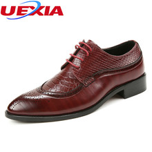 Designer Black Brown Brogue Shoes Leather Lace Up Men Formal Dress Oxfords Party Office Wedding Business Flats Luxury Microfiber