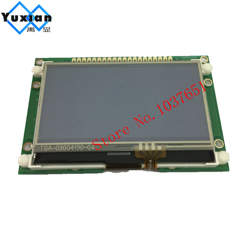 12864 5v cog with touch panel lcd display blue parallel serial SPI ST7565P <font><b>LG12864U</b></font> lcd display factory accept new design image