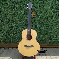 Solid Top acoustic guitar unisex performance wooden guitar ivory bridge folk guitar 41 inch Spruce top guitar