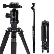 Cheapest prices Zomei Z688 Portable Camera Tripod Monopod With Ball Head Quick-Release Plate Carrying Case For DSLR SLR Camera