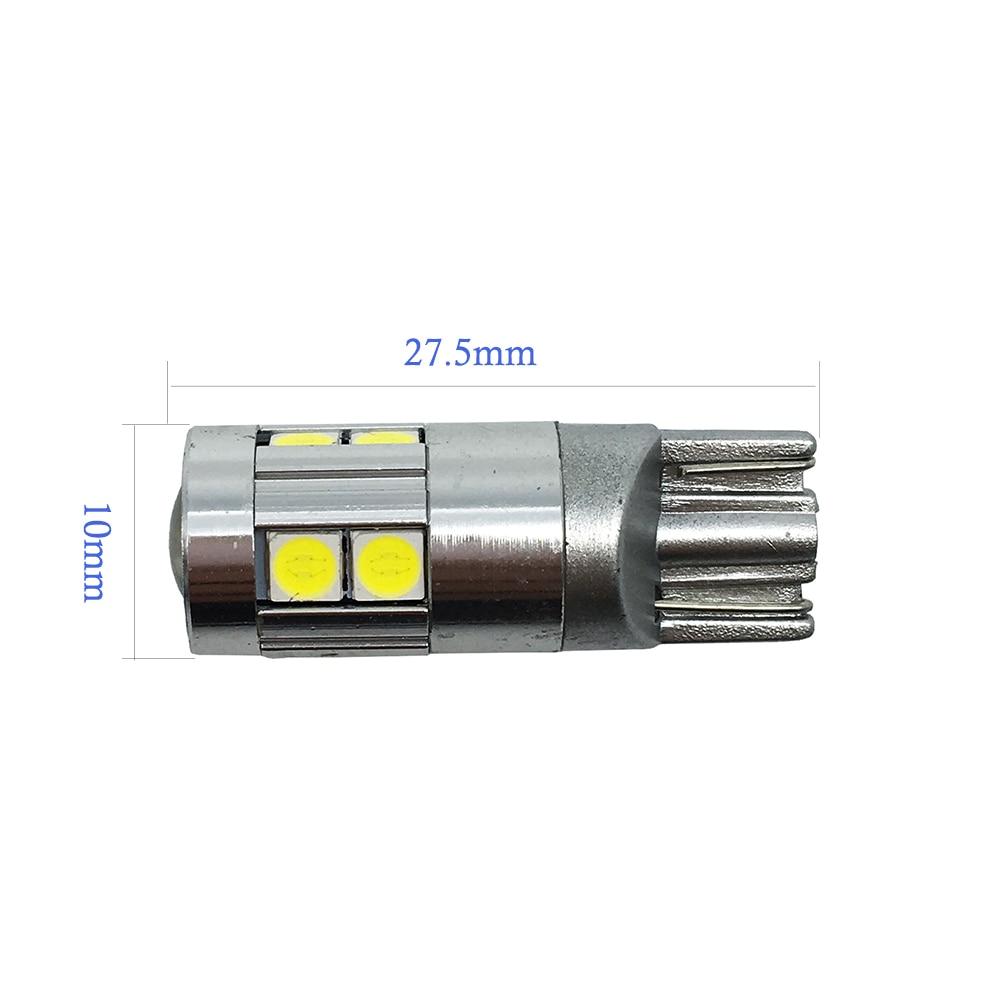 10x T10 3030 9 SMD 9 LED 12V 24V avtomatik paz lampa ampul avtomobil - Avtomobil işıqları - Fotoqrafiya 2