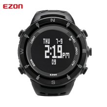EZON Outdoor Sports Watches H001C01 Professional Hiking Climbing Digital Watches Compass Barometer Altimeter Thermometer for Men
