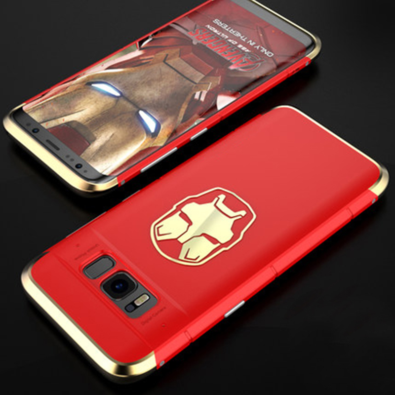 detailed look 5a18d 9b461 US $23.99 |SIKAI For Samsung Galaxy S9 Plus Case Metal Hybrid Thin Cover  For Samsung S8 S9 Batman Iron Man Case For Samsung Galaxy S8 Plus -in  Fitted ...