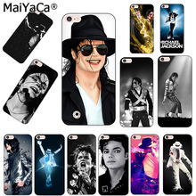 MaiYaCa michael jackson singer Black Soft TPU silicone Phone accessories Case