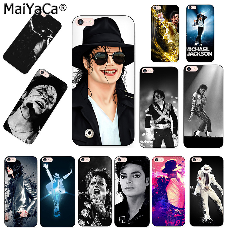 MaiYaCa michael jackson singer Black Soft TPU silicone Phone accessories Case For...