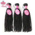 Queen Hair Brazilian Curly Virgin Hair Kinky Curl Weave Tangle Free 3pcs/lot Top Quality Human Hair Everyone Hair