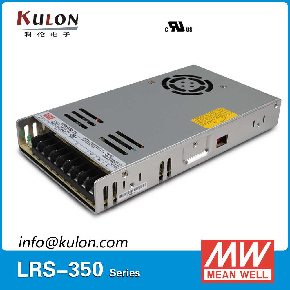 Original Mean Well LRS-350-15 350W 15V 23.2A output Meanwell Switch mode <font><b>LED</b></font> power supply