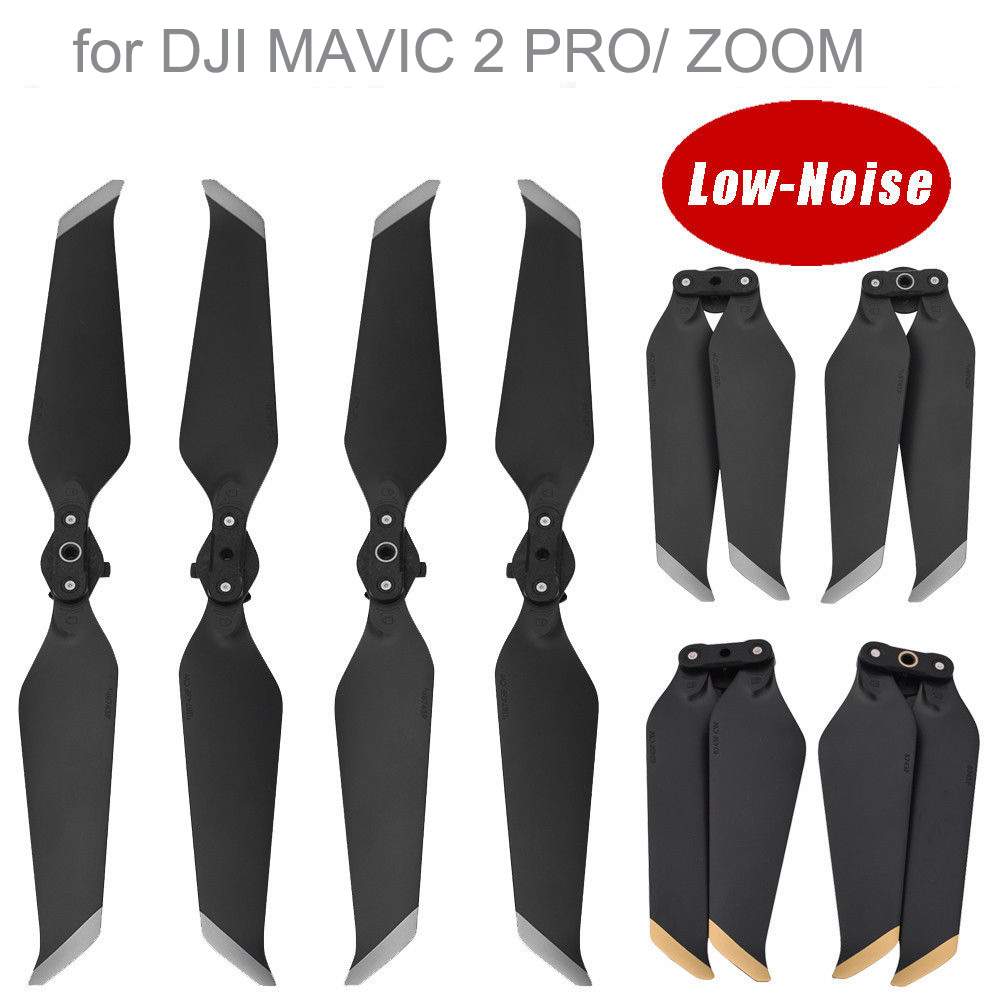 Sunnylife 8743 Low Noise Propellers Props Blade For DJI MAVIC 2 PRO/ ZOOM Drone Replacements Foldable DR2665G DR2665S