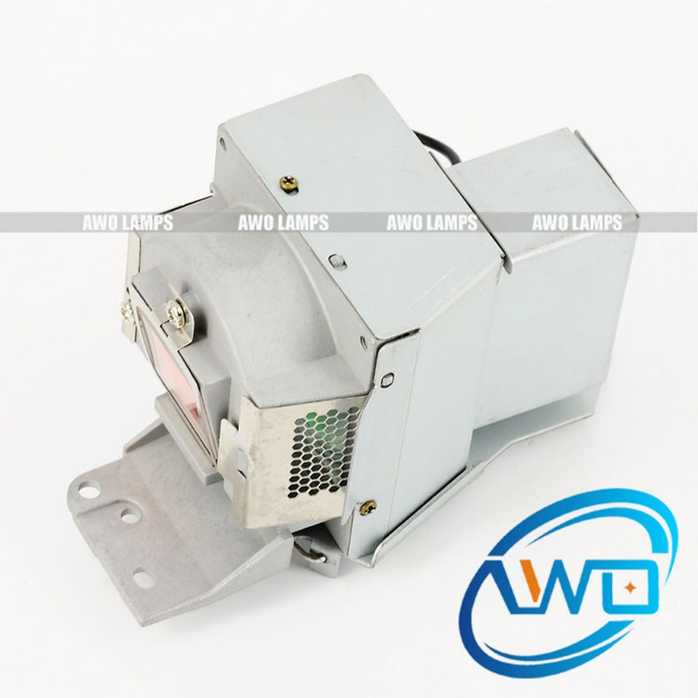 AWO High Quality Projector Lamp 5J.J5205.001 Replacement with housing for BENQ Projectors MS500/MX501/EP5127/TX501 Hot Sales awo high quality bare projector lamp 5j j6l05 001 replacement for benq ep5920 w1060 w700 w700 w703d