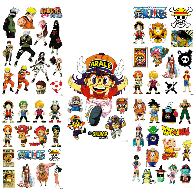 XAPCS Classic Anime Stickers For Skateboard Laptop Luggage - Car anime stickers