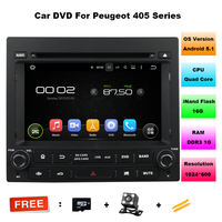 7 Inch Quad Core 1 Din Android 5 11 Car DVD Player For Peugeot 405 With