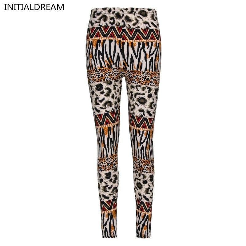 2018 Multiple styles  leisure casual fitness flower leopard leggings Skinny Slim sexy girl graffiti style high elastic leggings