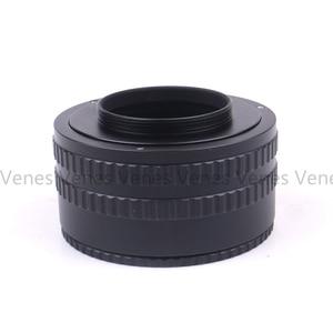 "Image 3 - Pixco helicoid התמקדות מתכוונן m39 למצלמה m42 m39 m42 tube הארכת מאקרו טבעת מתאם 35 90 מ""מ"