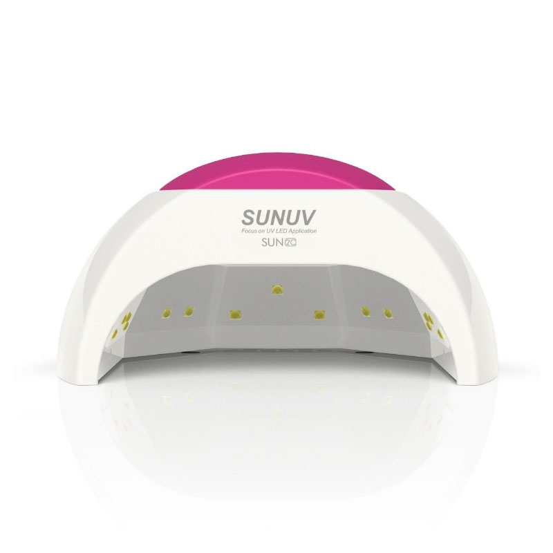 SUN2 LED Lamps Nail 48W Nail Dryer Professional Nail UV Lamp Rose Silicon Pad For Nail Gel Polish with Sensor Manicure Lamp жидкость domix green professional nail gel polish remuver