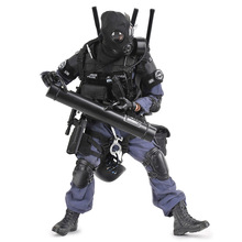12 inches SWAT BREACHER Police Action Figure 1/6 Scale Soldier Models Set 30cm Army Toys for Children Kids Boys Birthday Gift