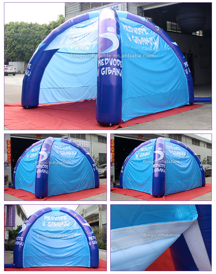 BG-T0102-Inflatable four leg tent-2