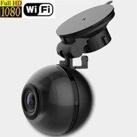 Dash Camera WiFi Full HD 1080P Car DVR Dashcam 140 Degree Video Camera Recorder Night Vision
