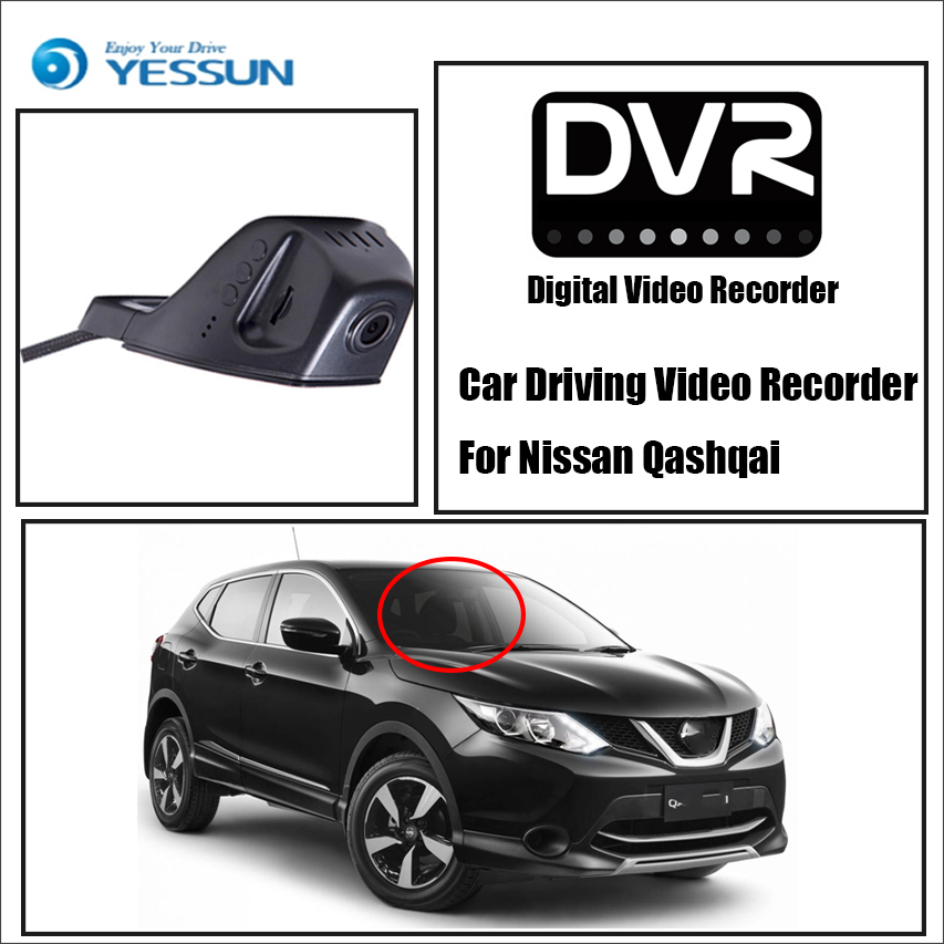 Front Camera Dash Hd 1080p Not Reverse Parking Camera Diversified Latest Designs Yessun For Nissan Qashqai Car Dvr Digital Video Recorder Car Electronics