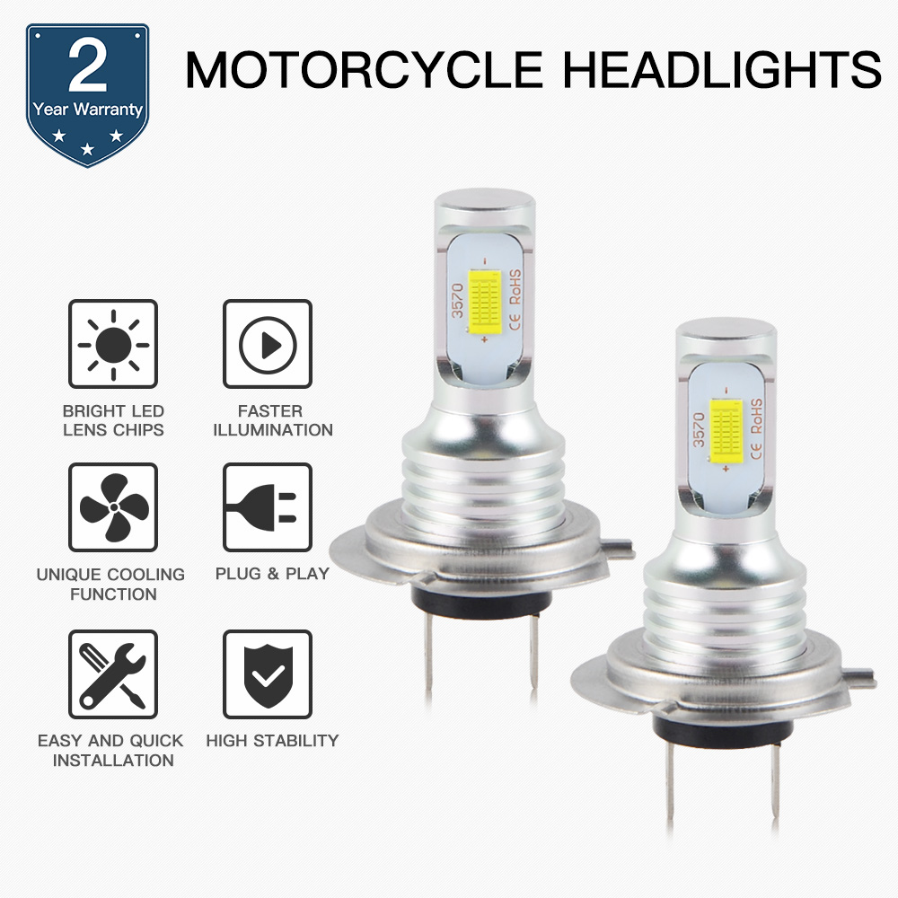 Motorcycle 100W LED Headlight Bulb Lamp For BMW S100RR R1200GS K1300R K1300S K1200R/RS/GT F800R F800GS F700GS F650GS C650GT C600Motorcycle 100W LED Headlight Bulb Lamp For BMW S100RR R1200GS K1300R K1300S K1200R/RS/GT F800R F800GS F700GS F650GS C650GT C600