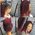 "12"" 22roots Cheapest Senegalese Twist Crochet Braids Hair Extension 75g Ombre Synthetic Havana Mambo Twist Crochet Braids Hair"