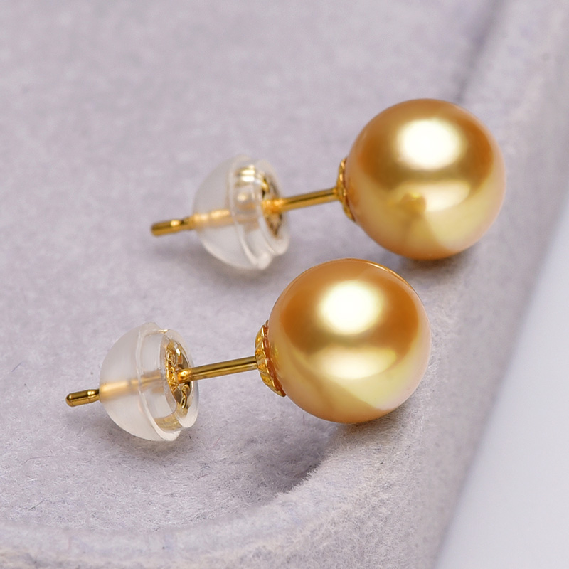 [YS] 18 k χρυσό μαργαριτάρι κοσμήματα 5-8 - Κοσμήματα - Φωτογραφία 4
