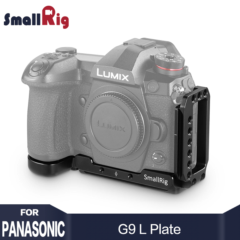 SmallRig G9 L Bracket for Panasonic Lumix G9 Camera L Plate Quick Release for Tripod Monopods