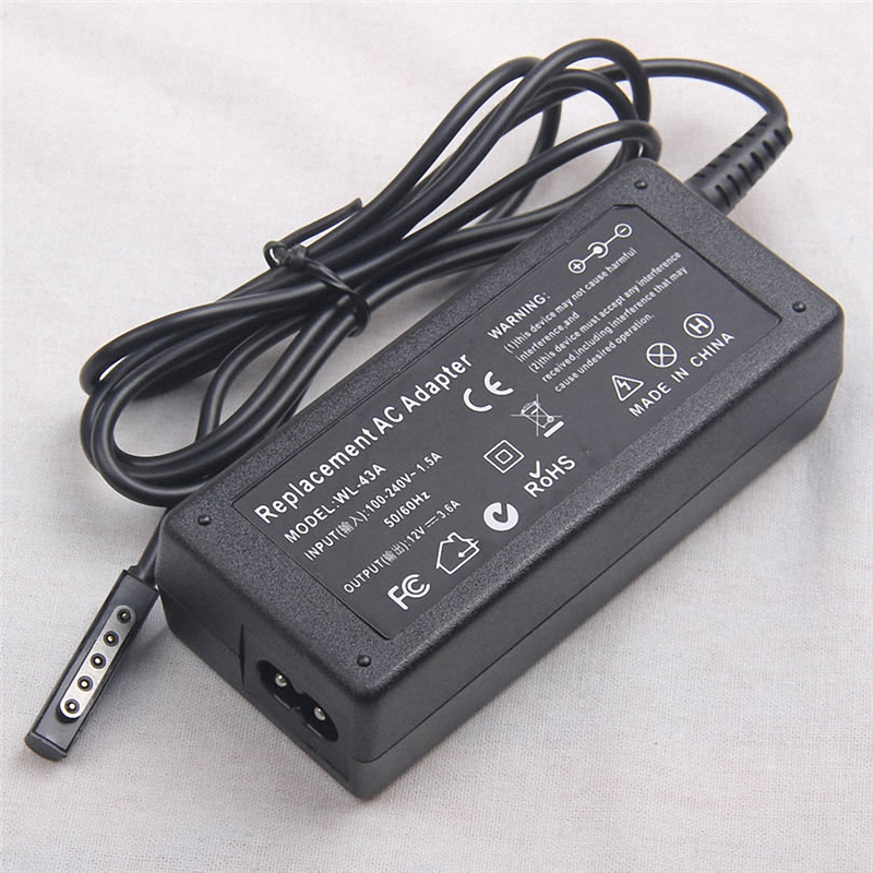 12V 3.6A AC Power Adapter Wall Charger For Microsoft Surface 10.6 Windows 8 Pro 1 2 Tablet Tab (EU US UK Plug Choose)