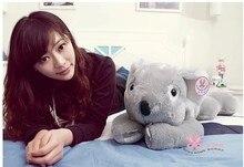 gray middle size lovely koala plush toy cute stuffed koala doll birthday gift about 60cm