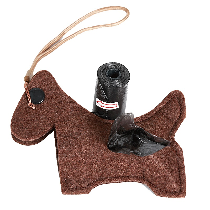 Outdoor Portable Poop Bag Holder Cute Animal Shape Dog Waste Bags Easy Degradable Pet Poop Bags Dispenser Dog Cleaning Products #2