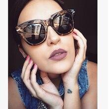 Plaza de Steampunk Gafas de Sol Mujeres Diseñador de la Marca Retro Gafas de Sol Para Damas Espejo Shades UV400 Gafas de Sol de La Vendimia Femenina
