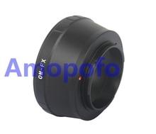 Amopofo,OM-FX Adapter for Olympus OM Lens to Fuji X-mount XF XC  X-Pro1, X-E1, X-E2, X-M1, X-A, SR/X-600 Digicam OM-FX